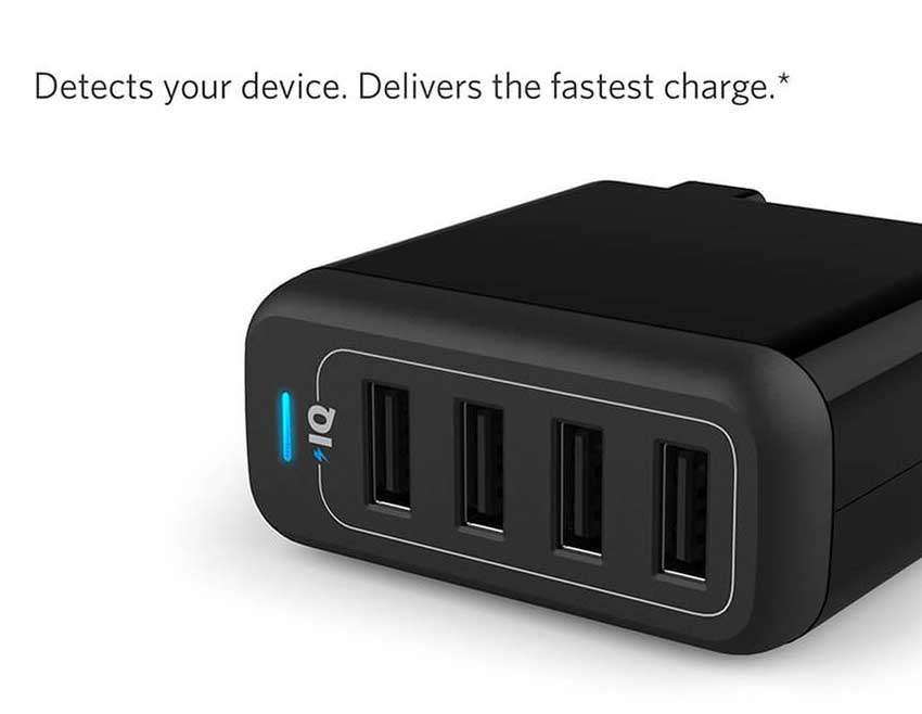 Anker-Power-Port-4-Port-40W-Wall-Charger