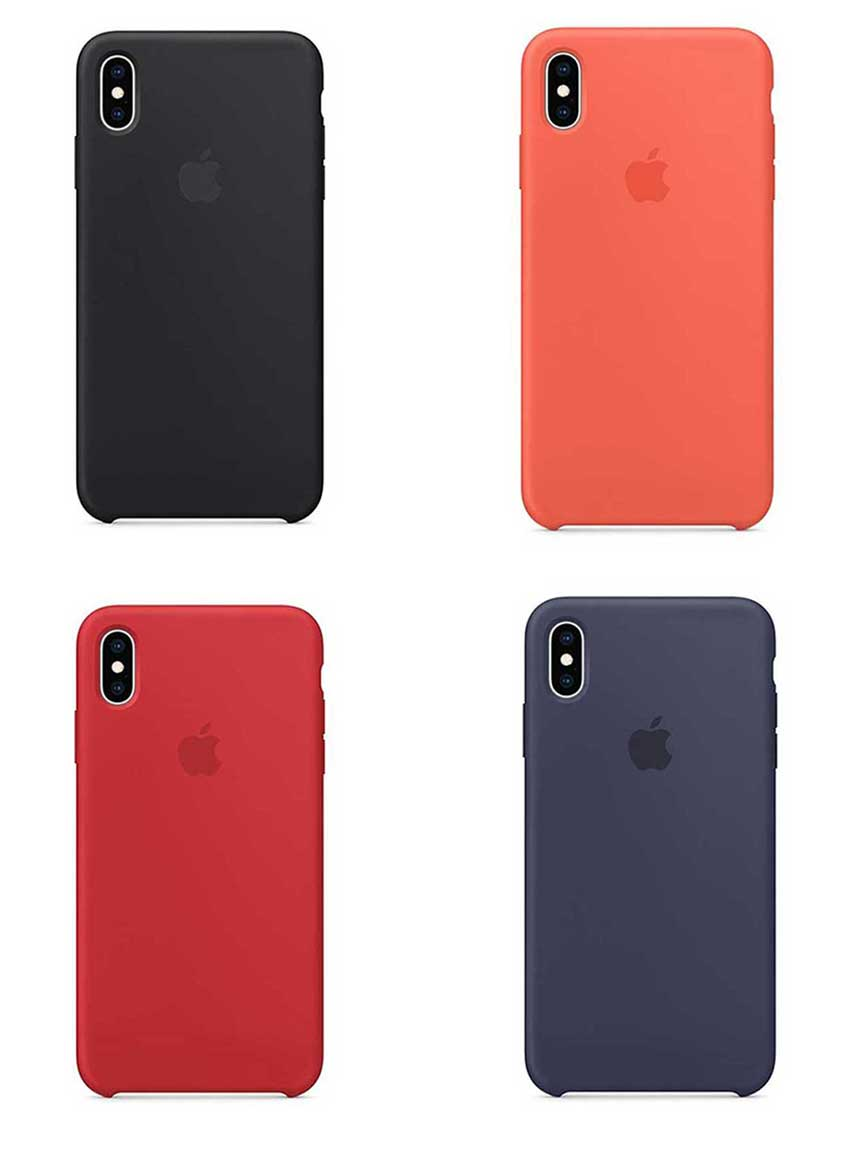 the latest 2d822 afdd0 Apple official silicone case for iPhone Xr, XS, XS Max