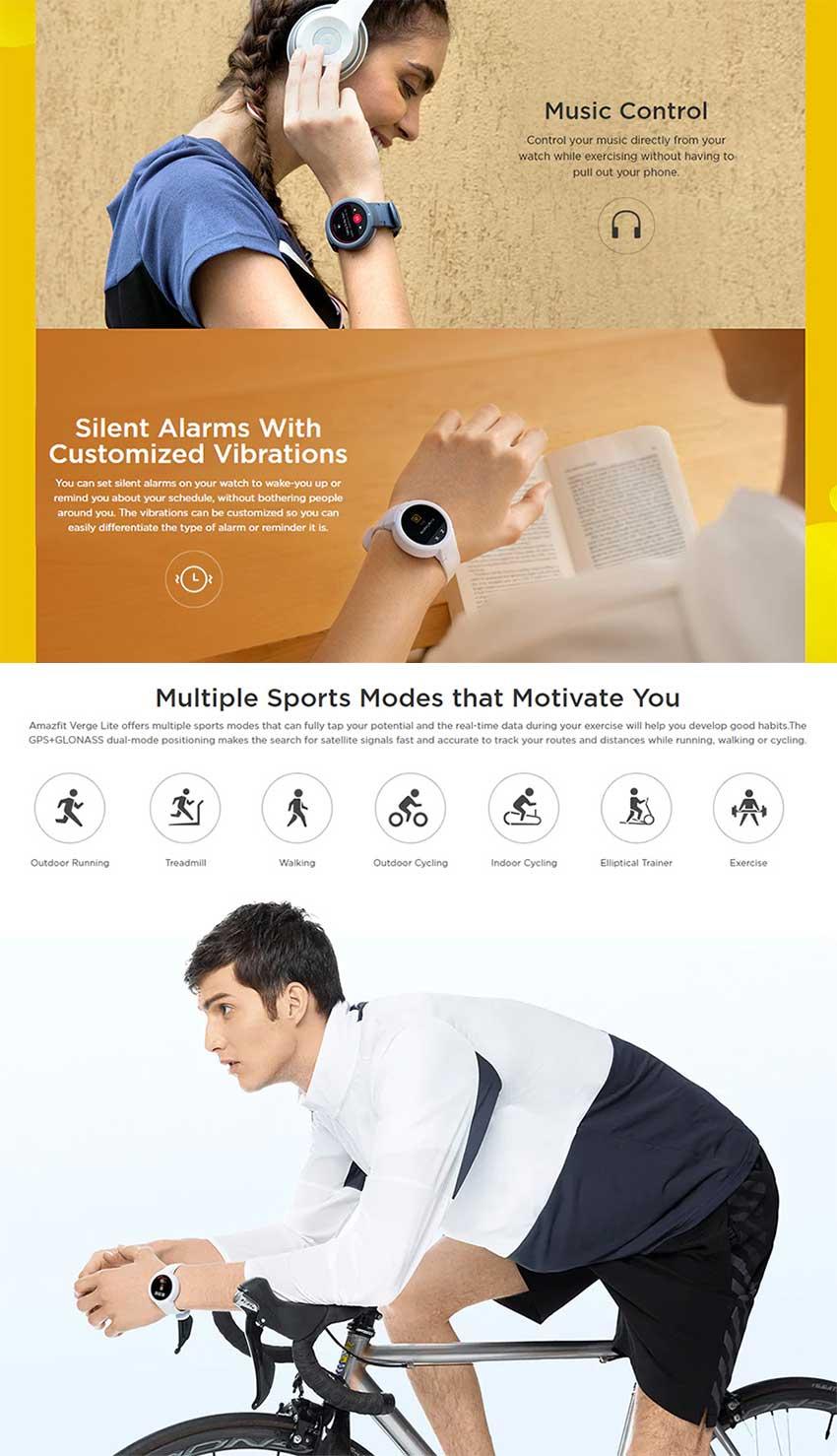 Xiaomi-Amazfit-Verge-Lite-Bluetooth-Spor