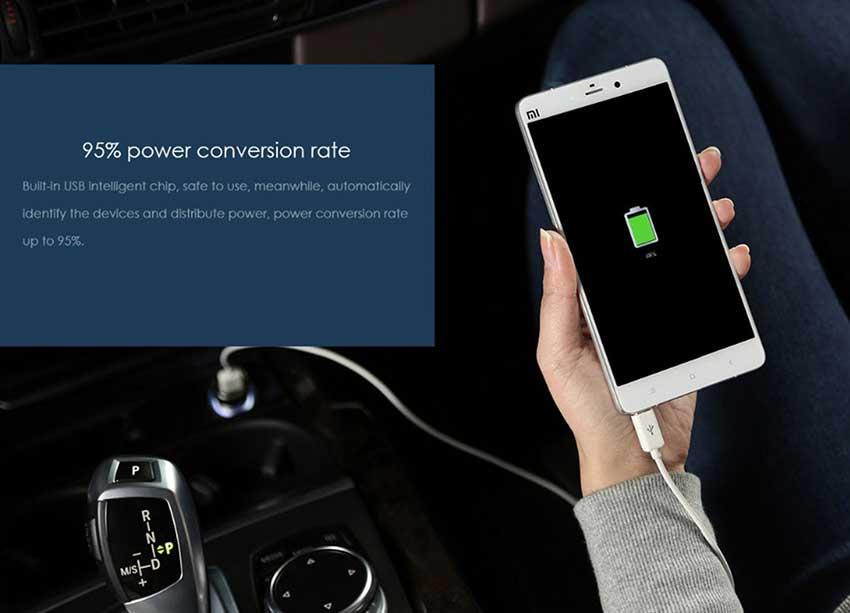 Xiaomi-Mi-car-charger-dual-USB-fast-mobi
