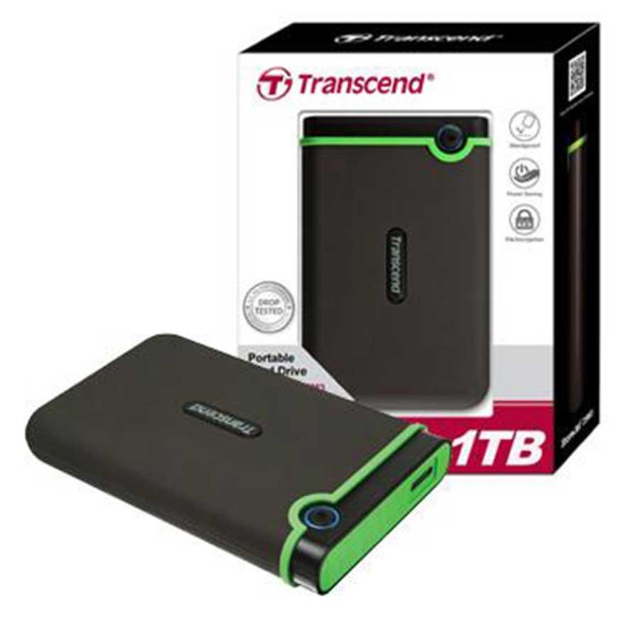 Transcend 1TB StoreJet USB 3.1 External Hard Drive Buy in ...