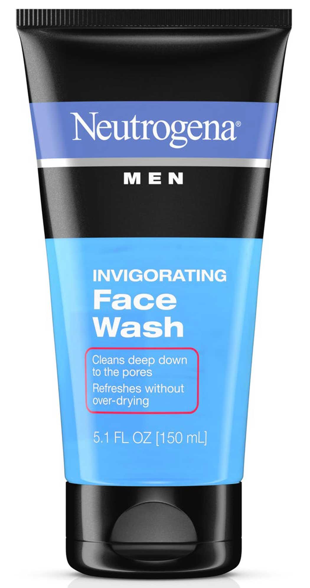 neutrogena men face wash