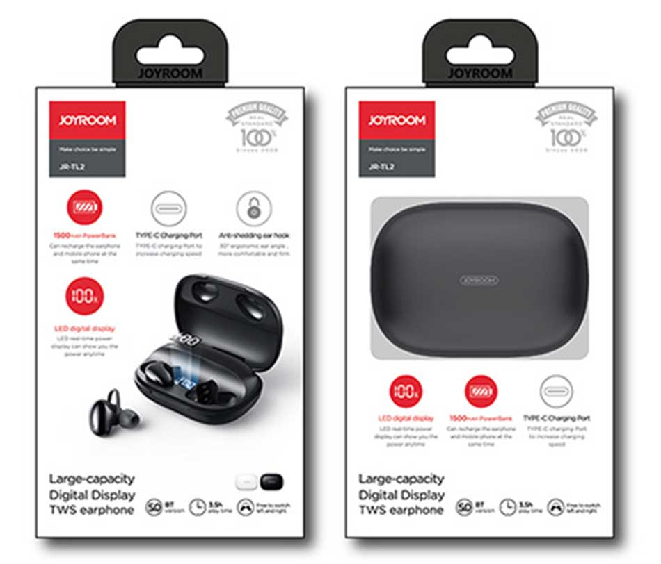 Joyroom JR-TL2 Bluetooth TWS Earphone