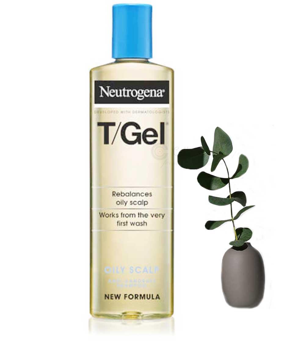 Neutrogena T Gel Oily Scalp Anti Dandruff Shampoo 250ml Skin Hair