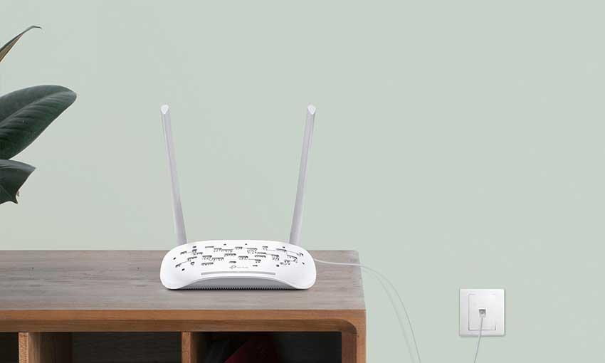 TP-Link TL W8961N 300Mbps Wireless ADSL2+ Modem Router