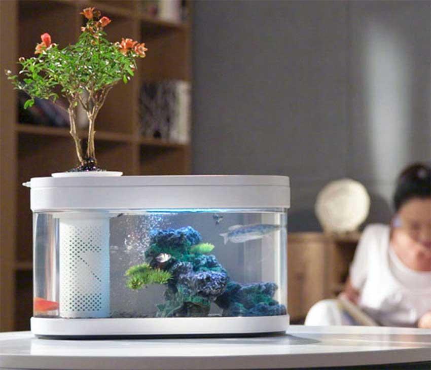Mijia-HFJH-Geometry-Aquarium-Small-Water