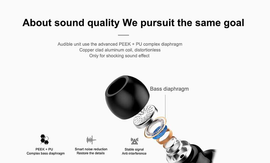 Joyroom JR-S2 Earbuds Single Wireless Bluetooth Headset
