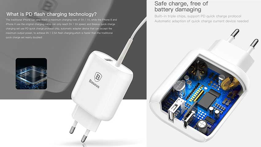 Baseus-Bojure-Series-32W-PD-Quick-Charge