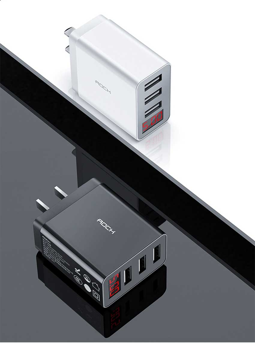 Rock-T14-Pro-Travel-Charger-3-Port-USB-w