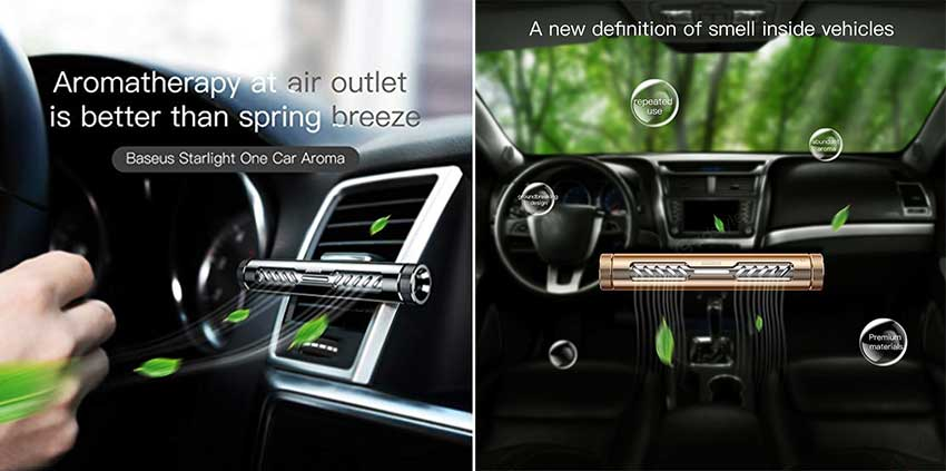 Baseus Starlight One Car Aroma Fragrance Air Freshener 5