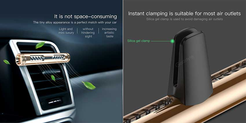 Baseus Starlight One Car Aroma Fragrance Air Freshener 6