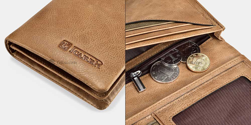 ICARER-Real-Leather-Wallet-in-Bangladesh