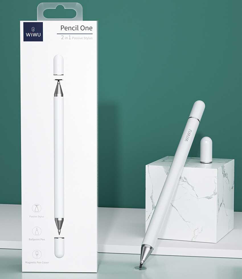 WiWu-Pencil-One-2-in-1-Passive-Stylus-pe