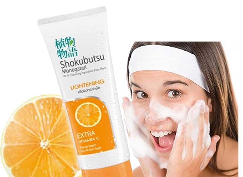 Shokubutsu-Lightening-Facial-Foam-Price-