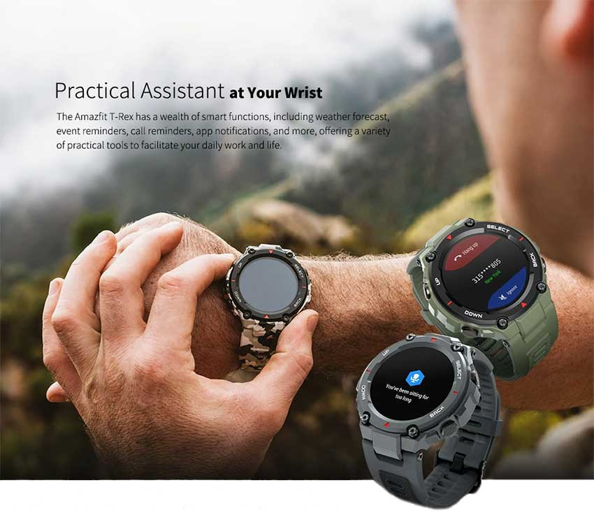 Amazfit-T-Rex-Waterproof-Bluetooth-Dual-