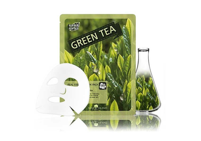 May-Island-Green-Tea-Real-Essence-Mask-P