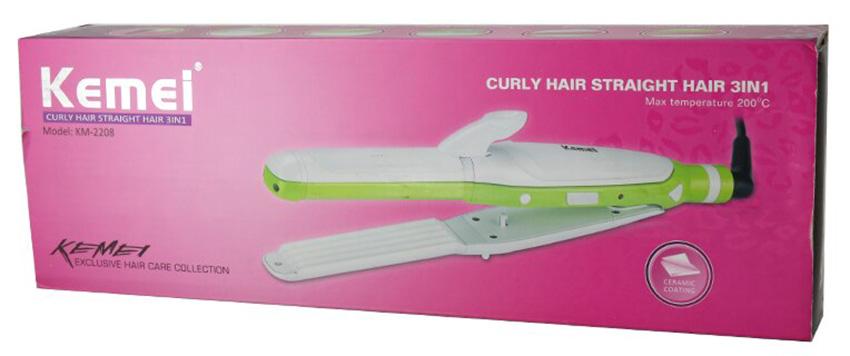 Kemei-KM-2208-Hair-Straightening-Splint-