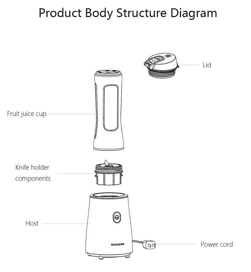 Xiaomi-Ocooker-Portable-Blender-price-in