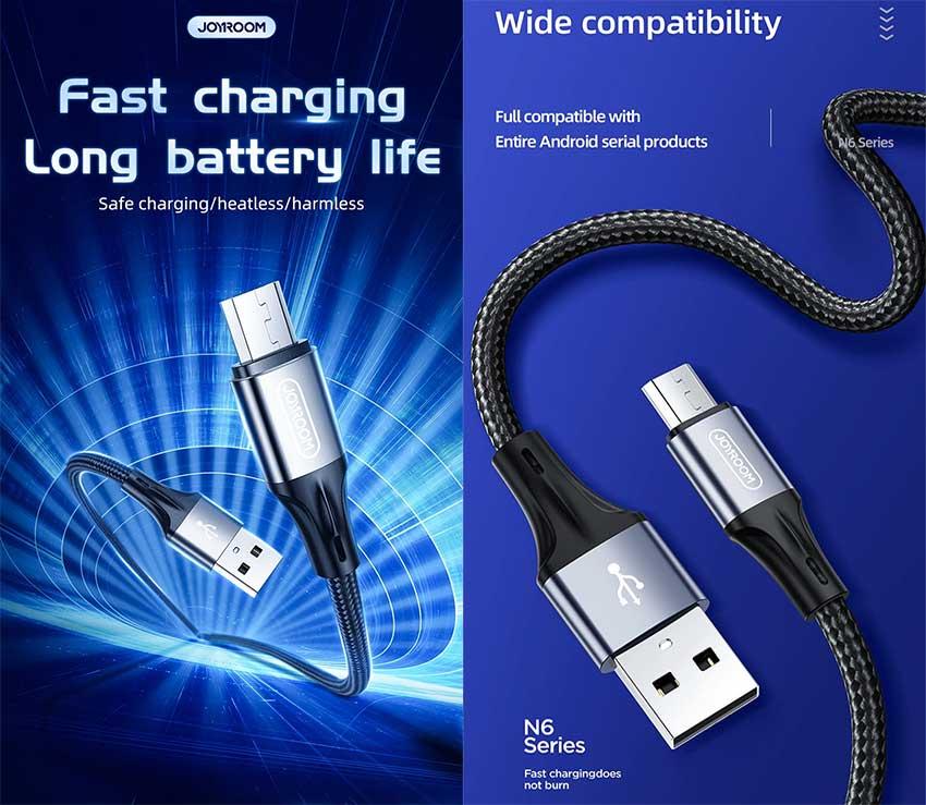 Joyroom-N6-USB-3A-fast-charging-data-cab